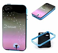 Dream Pattern Back Case Cover for  iPhone4/4S
