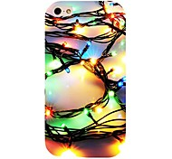 Colorful Light Pattern Back Case for iPhone 4/4S