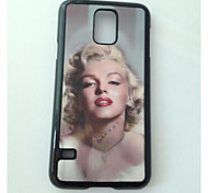 For Samsung Galaxy Case Shockproof / Pattern Case Back Cover Case Sexy Lady PC Samsung S5