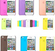 PP Thin thin mobile phone protection shell for iPhone 4/4s (Assorted color)
