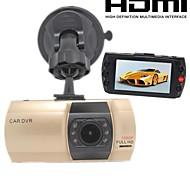 "H.264 1920 * 1080p dvr leva coche FullHD, monitoreo de aparcamiento, ficha coche a9 de oro, 2.7 ""lcd visión nocturna g-sensor con hdmi"