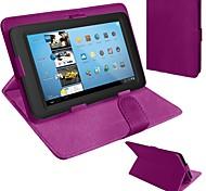 universale vibrazione caso tablet cuoio dell'unità di elaborazione con il basamento per il 10 pollici (colori assortiti)