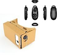 google cartón bricolaje virtuales gafas de realidad 3D controlador BHT multifunción + para el iphone / nexus 6&teléfonos Samsung
