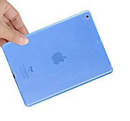 The High Quality Transparent Water Silicone Soft Cover for iPad 6/Air 2(Assorted Colors)