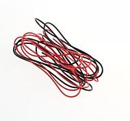 (Vermelho + preto) fios, placas de circuito linha voar um metro