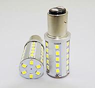 1157 3w 36x2835smd lumière blanche 250-300lm ampoule led pour la voiture (12V DC, 2pcs)