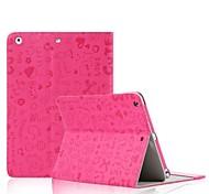 Cartoon-Muster Ganzkörper-Fall mit reizenden Tablet-Taschen für ipad Luft / 5 (Farbe sortiert)