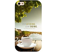 Coffee Pattern Back Case for iphone 4/4S