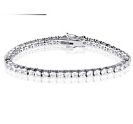 The Fashion Bracelet Jewelry,in 925 Sterling Silver  Bracelet Jewelry,Cubic Zirconia  Bracelet,Women's  Bracelet Jewelry