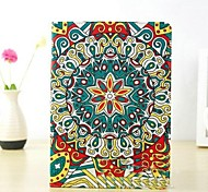 High Quality Starbucks Painted Totem PU Full Body Case with Stand and 360 Degree Rotationfor iPad 5/Air