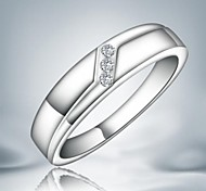 Fashion Simple Band Ring For Women (1 pc)