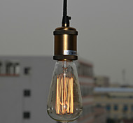 60W Minimalist Modern Pendant Light with Glass Shade(E27/E26 Base)