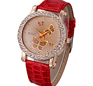 Women's Watch Diamante Butterflies Pattern Dial Cool Watches Unique Watches Fashion Watch