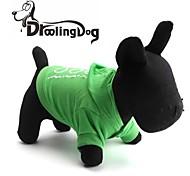 """lovely """"ho! ho!"""" Muster aus 100% Baumwolle mit Kapuze T-Shirt für Hunde (verschiedenen Größen)"""