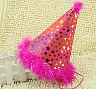 EVA Shiny Furry Birthday Hat PVC Kids' Halloween Party Accessories