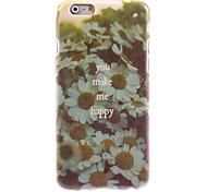You make Me Happy Design Hard Case for iPhone 6 Plus