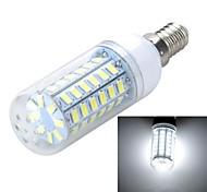 E14/G9 10W 1000LM 56-5730 SMD Warm/Cool White Light LED Corn Bulb (AC 220~240V)