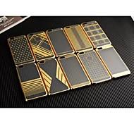 kaw TPU et doré pvc cas pour l'iPhone 6