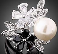 YUAN Fashion Casual High Quality Pearl Ring