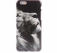 Lion Pattern Hard Case for iPhone 6 Plus