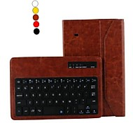 "8 ""High Quality PU Leather Case Bluetooth Keyboard with Stand Holder for Samsung Tab 4 8.0 T330(Assorted Colors)"