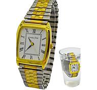 bracelet en acier montres habillées quartz de mode d'étirement des femmes