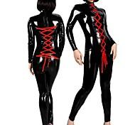 couro preto sm menina legal mulheres uniforme de gala dança do poste