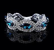 YUAN Fashion Casual High Quality Crystal Bracelet