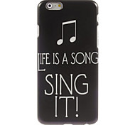 Sing It Design Hard Case for iPhone 6