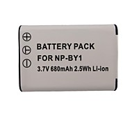 680mAh Camera Battery Pack for Gopro 4 Camera AHDBT Sony HDR-AZ1 NP-BY1