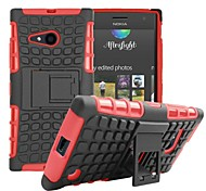 Kemile Unique Grenade Grip Rugged Rubber kin Cover For Microoft Lumia 735/730 (Aorted Color)