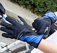 vélo de haute qualité de protection d'hiver polaire coupe-vent pleine doigts des gants antidérapants chaudes