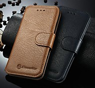 """CaseMe Brand Genuine leather Case For iPhone 6 4.7"""" Business Cow wallet Leather For iPhone 6 (Assorted Color)"""