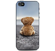 Cubs Back Pattern Hard Case for iPhone 4/4S