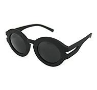 100% UV400 Resin Round Plastic Retro Sunglasses