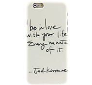 Believe With Your Design Hard Case for iPhone 6