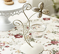 European Style Irony Butterfly Candle Holder