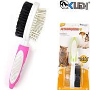 de haute qualité poils de la brosse de massage pour chiens de compagnie (de tailles assorties, couleur aléatoire)