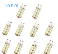 G9 5W 104 SMD 3014 600 LM Warm White / Cool White T LED Corn Lights AC 220-240 V