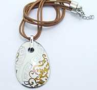 SPHERE Stainless Steel Chinese Style Necklace