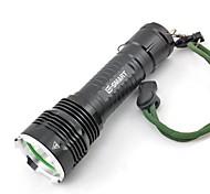 Outdoor Aluminium Alloy Waterproof Riding Charge Mini Flashlight