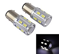 16W BA9S High Power Car LED Fog Lamp,16LED,DC12V,80LM,Energy Conservation, Environmental Protection(White)
