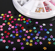 600PCS Colorful Quincunx Flatback Acrylic Gems Handmade DIY Craft Material/Clothing Accessories