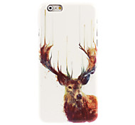Deer with Antlers Hard Case for iPhone 6