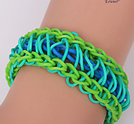 Eruner®Sweet Color Loom Bands Rubber Band Bracelet NO.2