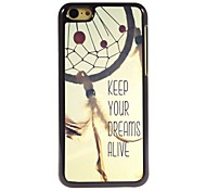 Keep Your Dreams Alive Design Aluminum Hard Case for iPhone 5C