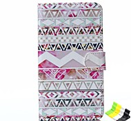 Stripe Pattern PU Leather Full Body Case Have A Perfume and Phone Holder for LG G3