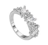 nouvelles bagues princesse de promotion cz de coupe de mariage de diamant multi-broches conception femmes anneaux uniques de fête