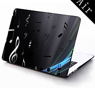 Musical Notation Design Full-Body Protective Plastic Case for 11-inch/13-inch New Mac Book Air