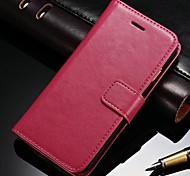 durable pu étui portefeuille en cuir pour iPhone 6 plus (couleurs assorties)